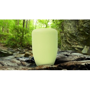 Biodegradable Cremation Ashes Funeral Urn / Casket - MELLOW YELLOW
