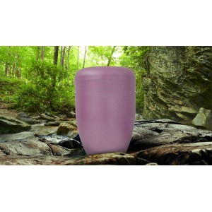 Biodegradable Cremation Ashes Funeral Urn / Casket - LILAC PETAL
