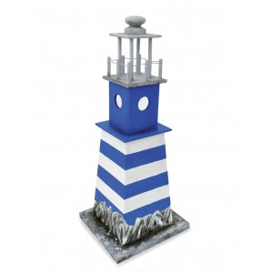 Handcrafted Cremation Funeral Ashes Urn / Casket - LIGHTHOUSE