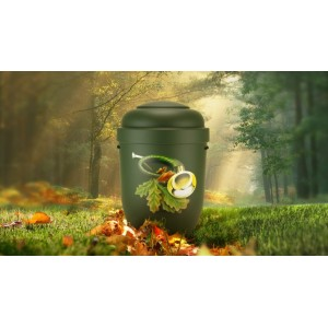 Biodegradable Cremation Ashes Funeral Urn / Casket - THE HUNTING HORN