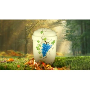 Biodegradable Cremation Ashes Funeral Urn / Casket - GRAPE VINE