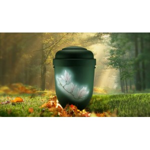 Biodegradable Cremation Ashes Funeral Urn / Casket - MAGNOLIA