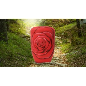 Biodegradable Cremation Ashes Funeral Urn / Casket – CRIMSON ROSE