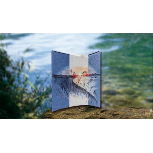 Biodegradable Cremation Ashes Urn – STYLE AT THE LAKE (Airbrushed by Skilled Artists)