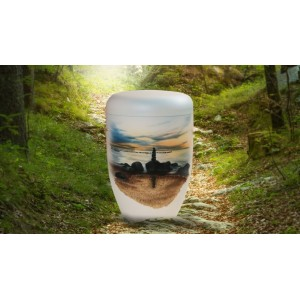 Biodegradable Cremation Ashes Funeral Urn / Casket - LIFESTYLE ON THE BEACH