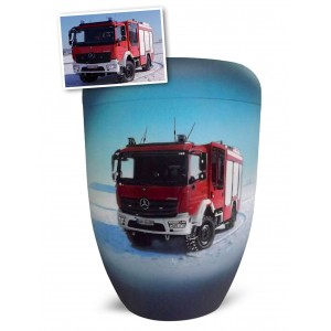 Biodegradable Cremation Ashes Funeral Urn / Casket – SPECIAL REQUEST (Fire Brigade)