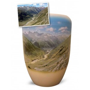 Biodegradable Cremation Ashes Funeral Urn / Casket – SPECIAL REQUEST (Landscape)