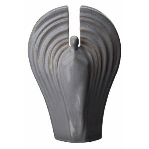 Eternal Guardian - Ceramic Cremation Ashes Urn – Beige Grey Melange