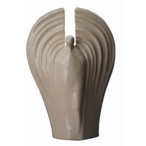 Eternal Guardian - Ceramic Cremation Ashes Urn – Transparent