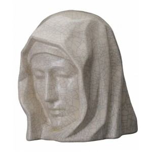 Our Holy Mother - Ceramic Cremation Ashes Urn – Craquelure