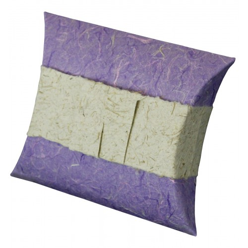 Biodegradable Cremation Ashes Funeral Urn - JOURNEY EARTHURN (Purple)