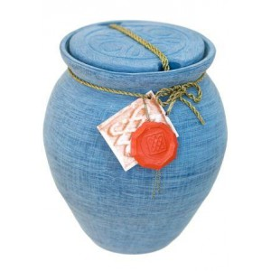 Roman Design Biodegradable Cremation Ashes Urn