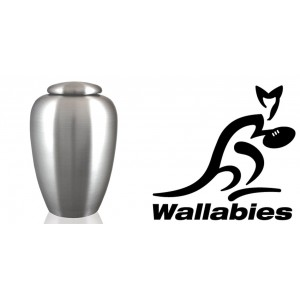 World Rugby Team Cremation Ashes Urn – Engraved Logo – Australia – The Wallabies