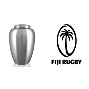 World Rugby Team Cremation Ashes Urn – Engraved Logo – Fiji – Rucking Awsome
