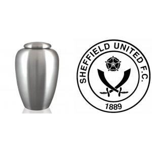UK Football Team Cremation Ashes Urn – Engraved Logo – Sheffield United – The Blades