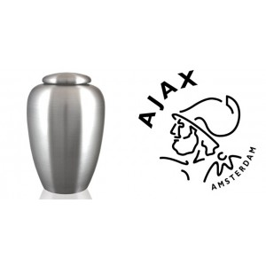 European / Holland / Dutch Football Team Cremation Ashes Urn – Engraved Logo – Ajax - Amsterdam