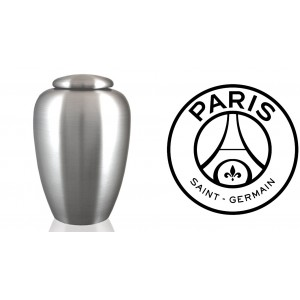 European / France / French Football Team Cremation Ashes Urn – Engraved Logo – Paris Saint Germain