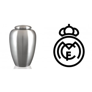European / Spain / Spanish Football Team Cremation Ashes Urn – Engraved Logo – Real Madrid