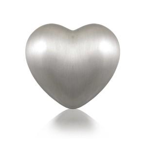 The Heart Pewter Keepsake Urn - FREE ENGRAVING