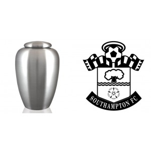 UK Football Team Cremation Ashes Urn – Engraved Logo – Southampton FC – The Saints