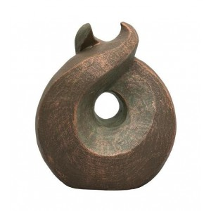 Ceramic Statue Urn - Sculptural Circle of Life - Bespoke Craftsmanship to the Highest Quality