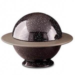 Medium Ceramic Urn – Solar System / Planet (Saturn)
