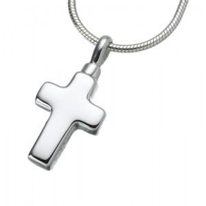 Small Sterling Silver Cross Pendant