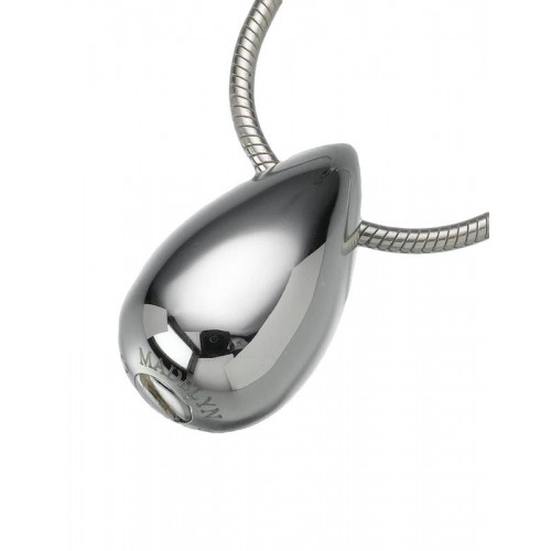 Sterling Silver Slide Teardrop Pendant