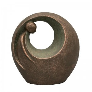 Ceramic Statue Urn - Eternal Optimism - Infinitely Reaching and Never Ending