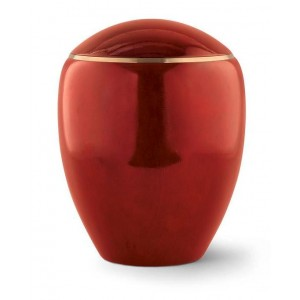 Wooden Urn (Round Top in Mahogany)