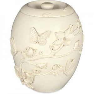 Cherry Blossom Cremation Ashes Urn