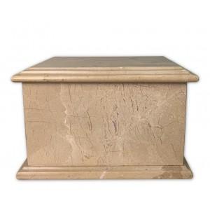 Superior Granite Natural Stone Cremation Ashes Casket – Handcrafted & Unique