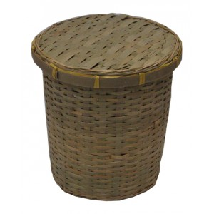 Bamboo Cylinder Cremation Ashes Casket. Beautiful Low Cost Urns
