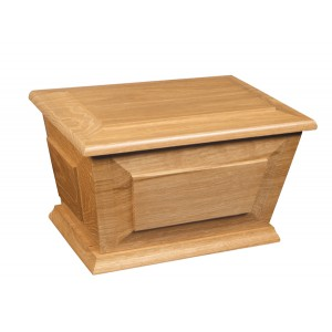 Ambleside Wooden Cremation Ashes Casket - Lowest Urn Prices Inc FREE Engraving
