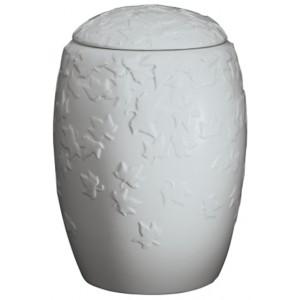 Autumn Lune Porcelain Cremation Ashes Urn