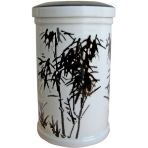 Bamboo Porcelain Cremation Ashes Urn