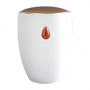 Jasper Red Gem Urn