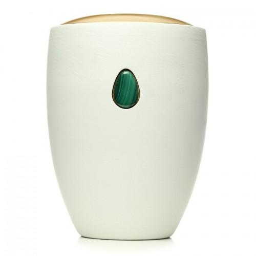 Malachite Green Gem Urn