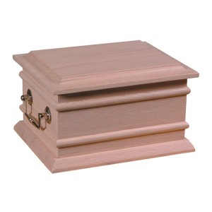 Newham Wooden Cremation Ashes Casket - FREE Engraving when you buy this product