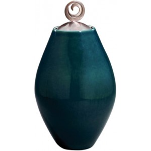 Ovoide Ceramic Cremation Ashes Urn