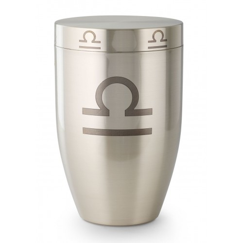 Zodiac (Star Sign) Cremation Ashes Urn (Libra)