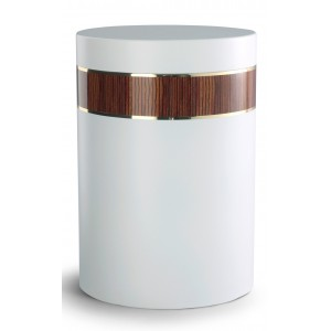 Mediterranean Edition Wood Line Cremation Ashes Urn – ZEBRAWOOD