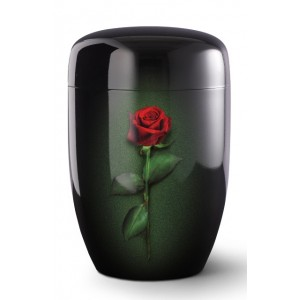 Fall in Leaves – Series Fleur Noire - Cremation Ashes Urn – ROSE