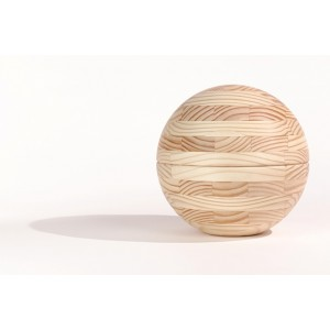 Fine Walnut Cremation Ashes Urn (Cross Glued, Oiled Finish) Special Edition Amphora Light