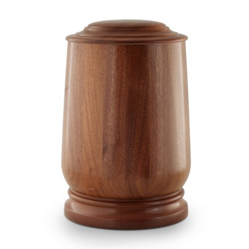 Mahogany Nature Cremation Ashes Urn (Quality Materials & Finishes)