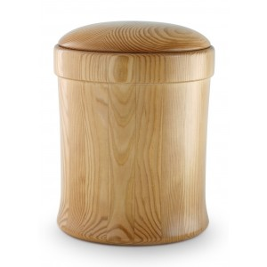 Natural Pine with Honey Coloured Dressing Cremation Ashes Urn – (Everlasting Tribute)