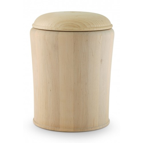 Alder (Waxed for Natural Burials) Cremation Ashes Urn