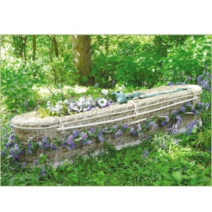 Water Hyacinth PREMIUM Coffins (Oval Shape). Massive Savings Buying Online - **FREE DELIVERY**