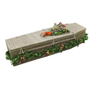 Seagrass Sovereign (Traditional Style). Caring Coffins made for our Environment